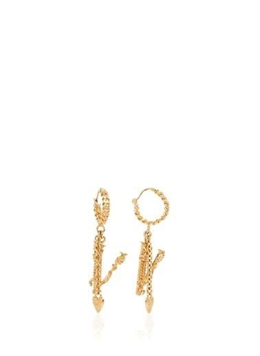 Versace Küpe Altın